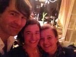 Mark, Jumana und die liebe Gastgeberin